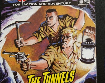 Commando issue 5117: 'The Tunnels of Arras' signed copies