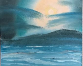 Teal Ocean Waters