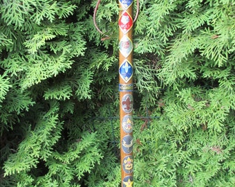 Cub Scout Wooden Hiking Walking Stick B.S.A. Eagle Scout Staff