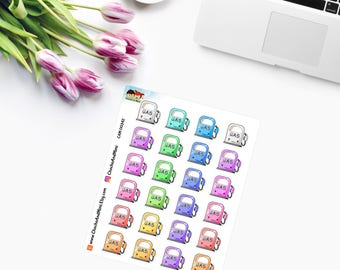 KAWAII ~ GAS/Petrol PUMPS ~ Planner Stickers - CAM00342