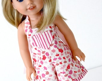 14.5 Inch Doll Handmade Romper for Wellie Wisher Doll
