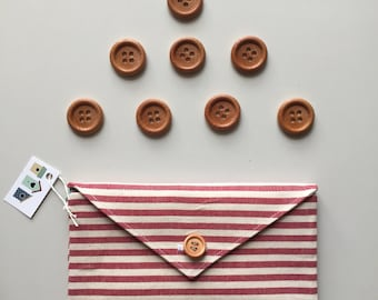 Letters, Fabric Wallets