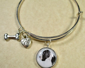Great Dane Bangle, Great Dane Bracelet, Great Dane Jewelry, Great Dane Gifts, Great Dane Mom Gifts, Gifts with Great Dane