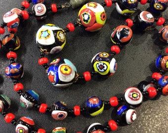 Milifiore venitian beads