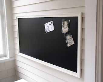 HUGE Magnetic Chalkboard - Restaurant Menu Board - Office Bulletin Board for Home or Corporate Office Conference Room 26 x 50