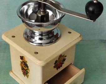 Vintage Shabby Chic Coffee Grinder