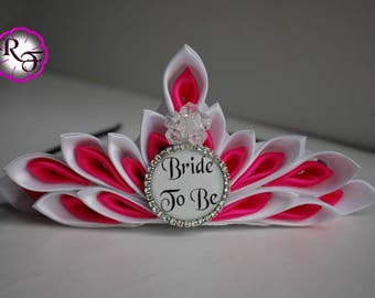 Bachelorette Crown , bridal shower tiara , bride to be crown Bachelorette party , wedding shower tiara , Bride to be party