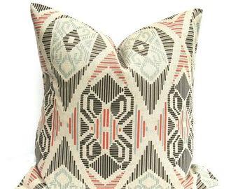 15% Off Sale Orange Pillow , Orange Pillow Cover, Tan Pillow , Tan Pillow Cover , Orange Throw Pillow , Decorative Pillow , Toss Pillow , Tr