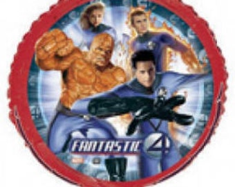 FAST SHIP TWO Fantastic Four Birthday Balloons, Fantastic Four Party Balloons, Fantastic Four Party Supplies