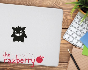 Pokemon Macbook Decal Macbook Sticker Gengar Macbook Decal Pikachu Macbook Decal Pokemon Gengar Macbook Decal Vinyl Team Rocket Macbook
