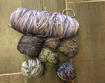 Bundle of Multi Color Yarn