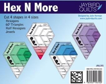 Jaybird Quilts Hex N More Ruler