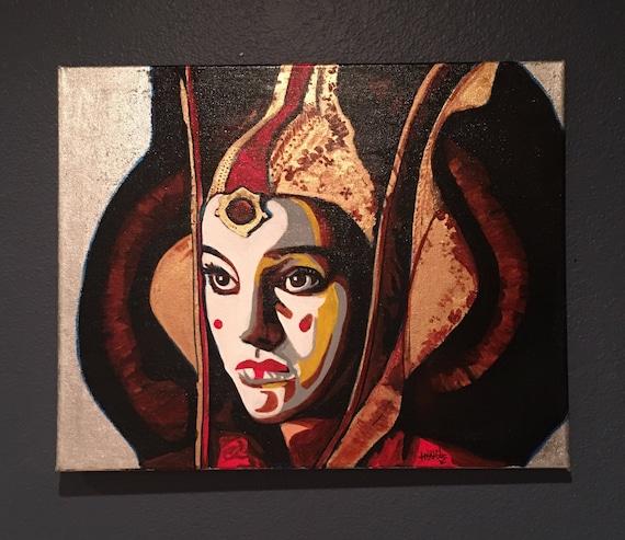 Queen Amidala Star Wars Fanart