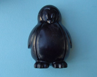 Big Black Penguin Glycerin Soap Bar