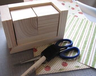 Blank Perpetual Calendar, DIY Wooden Block Calendar, Unfinished Calendar Blocks, Blank Wood, Do It Yourself Calendar, Gifts to Make