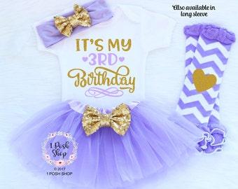 3rd Birthday Girl, It's My 3rd Birthday, Third Birthday Outfit Girl, 3rd Birthday Outfit Girl, Three Birthday Outfit, 3 Birthday Shirt BT9