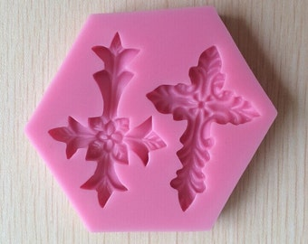 Cross Silicone Mold
