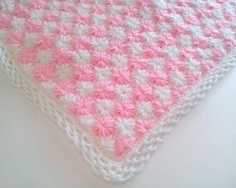 Crochet Baby Blanket  PATTERN 809 zig zag STAR Tutorial  Instant Download / PATTERN 809/ Blanket Baby Crochet Patterns zig zag