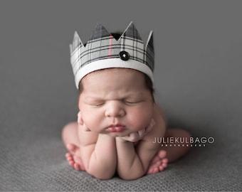 Photography Prop for boys - Newborn Boy Prop  - Newborn Photography Prop Crown - Newborn Boy Prop Crown - Boy Photo Prop - Newborn Props