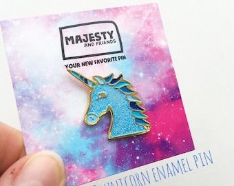 Magical Unicorn Enamel Pin