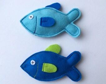 Cat toys - Felt Tuna fish, cat gifts, stocking stuffers, fun toys, kids toys