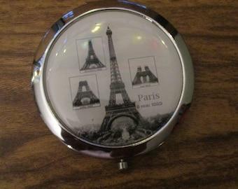 Compact Mirror Eiffel Tower Paris