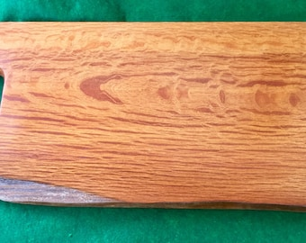 007) Sheoak platter with double Live Edge