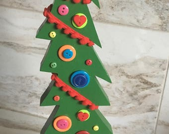 Dr. Seuss Inspired Christmas Tree