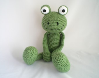 Crochet Frog / Amigurumi Frog / Crochet Amigurumi Soft Toy / Crochet Frog Plush Soft Toy / Crochet Plush Toy / Amigurumi Plush Toy Frog