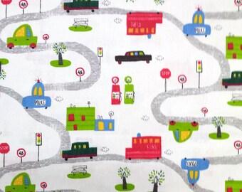 Kids fabric - car, car... Fabric width 160cm