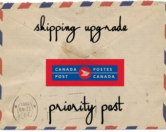 Shipping Upgragde - Canada Post Priority Post