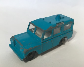 No12 Land Rover Safari Vintage Lesney Matchbox 1970