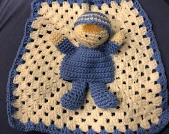 Crochet puppet baby