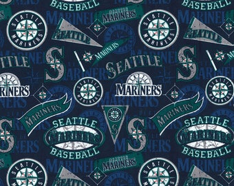 Seattle Mariners Fabric by the Yard