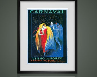 FRAMED WALL ART, Vintage Advertising Poster, Matted And Framed Art Print, Gallery Wall Art, Black Or  White Frames