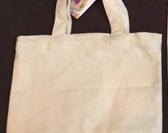 Mini customizable tote bag