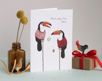 Toucan Play That Game Greetings Card