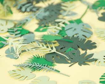 Jungle - Baby Shower Decorations - Tropical - Confetti - Birthday - Party Decorations - Safari - Party Supplies -Bridal Shower Decorations