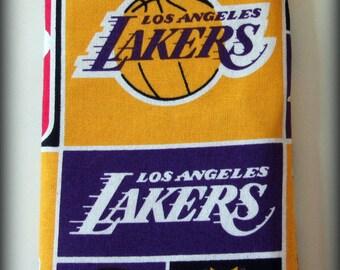 Eyeglass case - sunglasses case - glasses case - Los Angeles Lakers - Lakers - Lakers eyeglass case - Lakers sunglasses case - LA Lakers