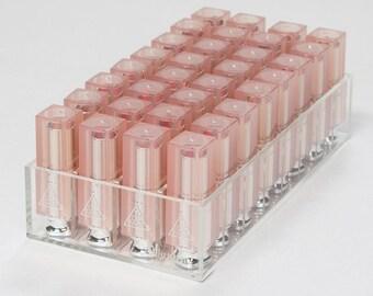 32 Slot Lipstick Organizer // Acrylic Makeup Organizer // Lipstick Holder
