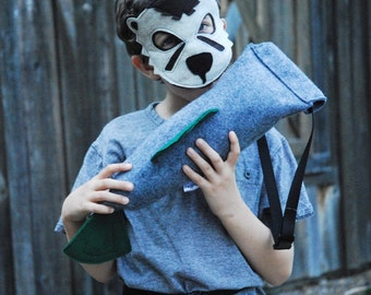 River Otter Costume - Mask, Tail, Mask & Tail Combo
