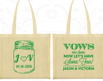 Cotton Tote Bag, Tote Bags, Wedding Tote Bags, Personalized Tote Bags, Custom Tote Bags, Wedding Bags, Wedding Favor Bags (231)
