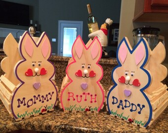 Personalized Children's Easter Baskets