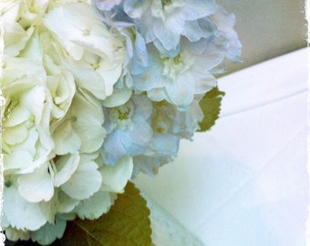 Vintage Hydrangea Photograph by DENISE SLOAN