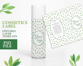 Cosmetic label soap label design custom soap labels soap packaging watercolor packaging packaging template soap label template custom label