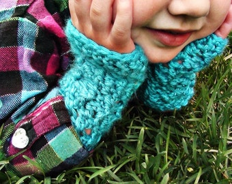 CROCHET PATTERN PDF - Fingerless Gloves  - Permission To Sell Finished Items - Instant Download