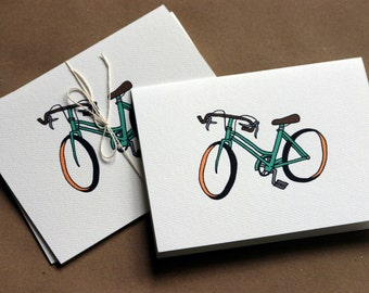 Bicycle Notecards (set of 6)
