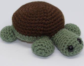 Crochet Mini Turtle