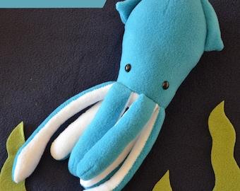 Squid Plush Pattern