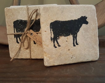 Cows, Cow, Cow Gifts, Mothers Day, Mom Gifts, Gift for Stepmom, Farmhouse Decor, Cow Decor, Cow Mug, Gift for Her, Country Home, Coasters